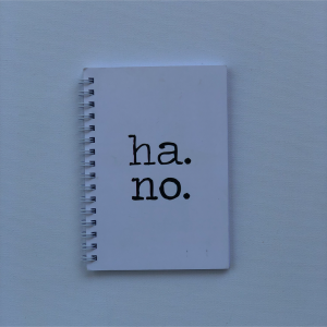 """Ha.Ho."" - A6 Notebook"