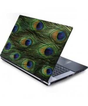 Peacock Laptop Skin