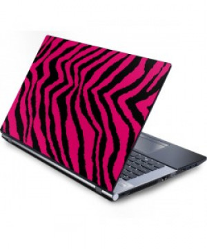 Retro Zebra Laptop Skin