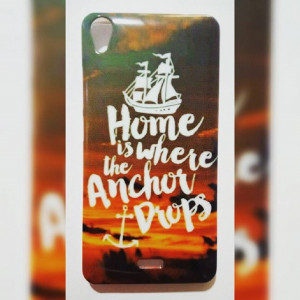 Home is where the anchor drops phone case