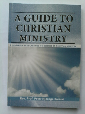 Christian Ministry Guide Book