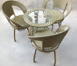 Balcony Chairs and  Table