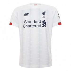 Liverpool White Away Jersey 19/20