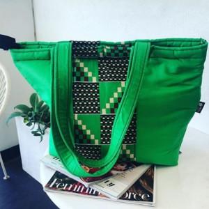 African Print handmade hand bags